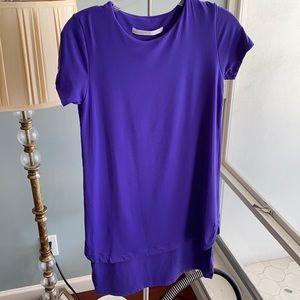 Susana Monaco t-shirt dress purple size small